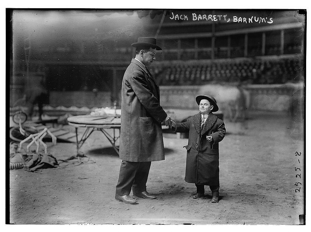 Jack Barrett [i.e., Barnett], Barnum's (LOC)