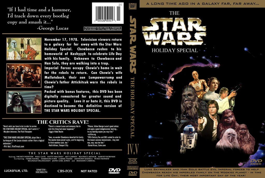 Star Wars Holiday Special DVD © Disney